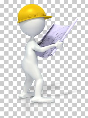 Architectural Engineering Stick Figure Building Construction Worker PNG