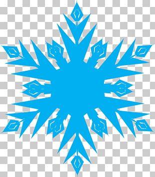 Elsa Snowflake Light PNG
