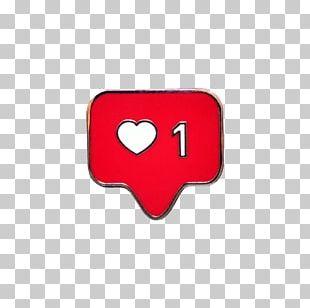 Heart Instagram Like Button Emoji PNG