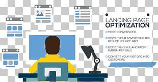 Digital Marketing Landing Page Search Engine Optimization Conversion Rate Optimization ランディングページ最適化 PNG