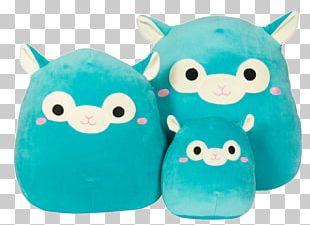 Alpaca Stuffed Animals & Cuddly Toys Plush Turquoise PNG