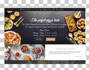 Fast Food Restaurant Responsive Web Design Cafe PNG