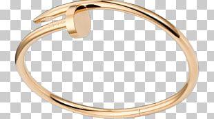 Love Bracelet Bangle Cartier Gold PNG