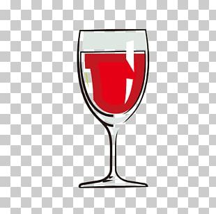 Red Wine Cocktail Wine Glass PNG