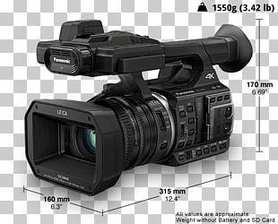 Panasonic HC-X1000 Camcorder 4K Resolution Video Cameras PNG