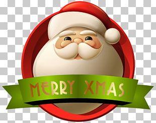 Santa Claus Christmas Decoration PNG