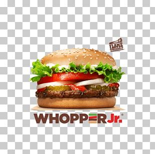 Whopper Hamburger Cheeseburger Big King Veggie Burger PNG