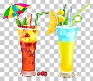 Cocktail Orange Juice Alcoholic Drink PNG