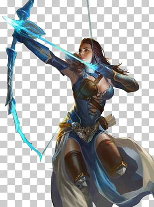 The Woman Warrior Figurine Legendary Creature PNG