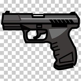 Emoji Firearm Pistol Weapon Handgun PNG