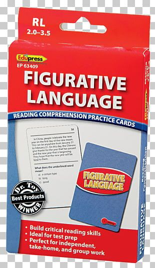 Literal And Figurative Language Reading Comprehension Vocabulary Language Arts Readability PNG