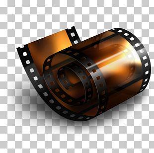 Photographic Film Lens Font PNG
