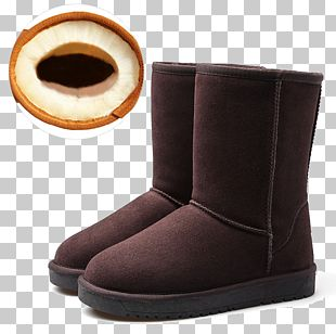 Snow Boot Shoe PNG