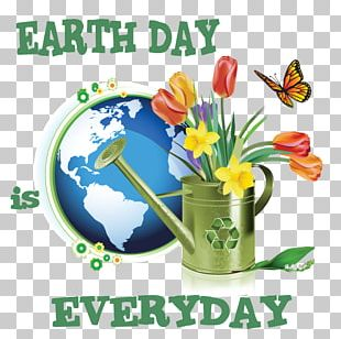 Earth Day Slogan Natural Environment PNG