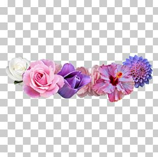 Flower Crown Wreath Headband PNG