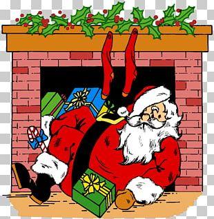 Santa Claus Christmas Card Christmas Eve PNG