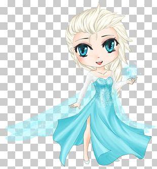 Elsa Manga Anime Chibi PNG