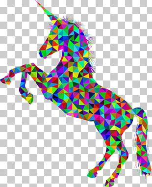 Horse Unicorn Silhouette Equestrian Horn PNG