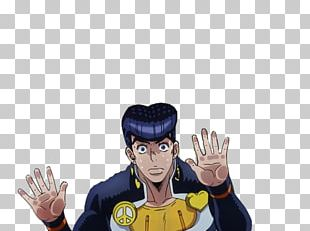 Josuke Higashikata JoJo's Bizarre Adventure Editor Cartoon Model Figure PNG