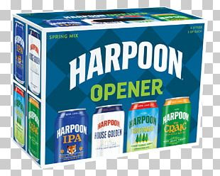 India Pale Ale Harpoon Brewery Packaging And Labeling Fluid Ounce Water PNG