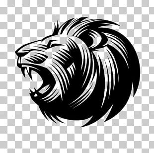 Lion Logo Symbol Idea PNG