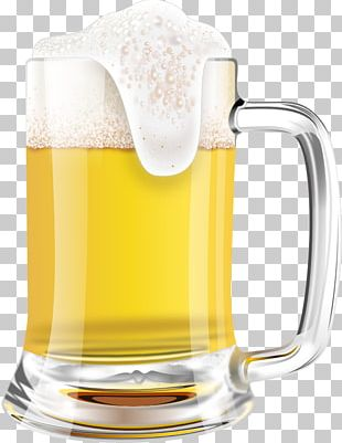 Draught Beer Pilsner Mug Beer Glasses PNG