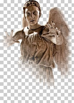 Doctor Who Tenth Doctor David Tennant Weeping Angel PNG