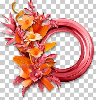 Floral Design Cut Flowers Wreath PNG