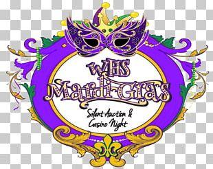Lundi Gras Logo Mardi Gras Brand Font PNG