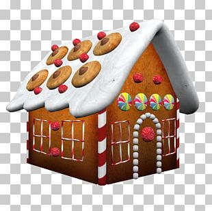 Gingerbread House Grimms' Fairy Tales PNG