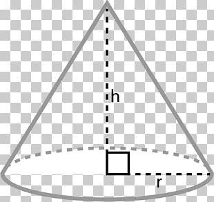 Geometry Shape Worksheet Cone PNG