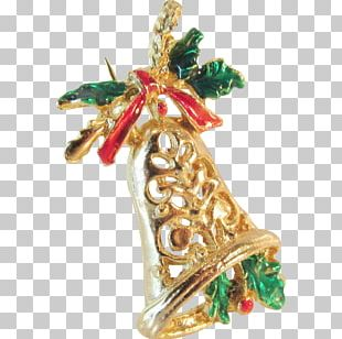 Jewellery Christmas Ornament Christmas Decoration Brooch Gold PNG