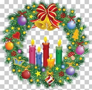 Wreath Christmas Day Graphics Garland PNG