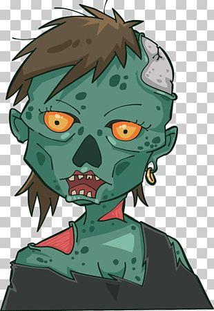 Zombie Cartoon Halloween Jiangshi Illustration PNG