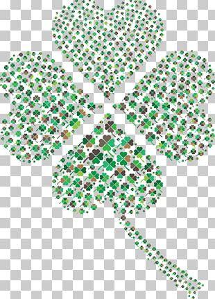 Four-leaf Clover Saint Patrick's Day Symbol PNG