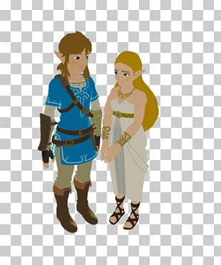 The Legend Of Zelda: Breath Of The Wild Link Nintendo Switch Video Game PNG