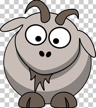 Boer Goat Sheep Cartoon PNG