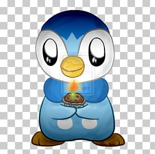 Penguin Birthday Bird Cartoon Flower PNG