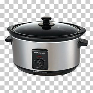Morphy Richards 3 Settings Slow Cooker 3.5 Litre Brushed Steel (Mod... Slow Cookers Morphy Richards Sear And Stew Slow Cooker 4870 Morphy Richards 6.5L Slow Cooker PNG