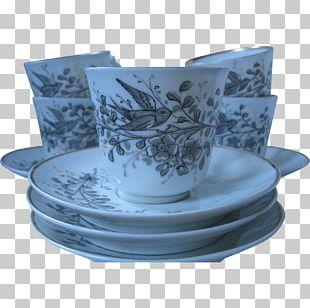 Blue And White Pottery Ceramic Cobalt Blue Porcelain PNG