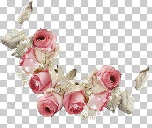 Cut Flowers Wreath Wedding PNG