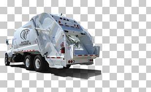 Commercial Vehicle Garbage Truck Loader Waste PNG