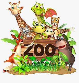 Zoo Animals PNG