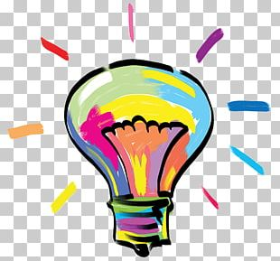 Incandescent Light Bulb Color Concept Art PNG