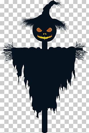 Halloween Scarecrow Jack-o'-lantern PNG
