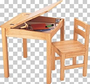 Little School Desk And Chair PNG
