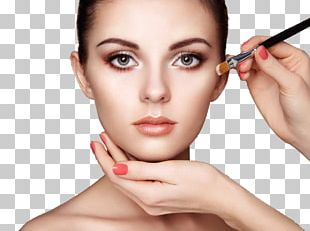 Cosmetics Foundation Make-up Artist Face Powder Beauty Parlour PNG