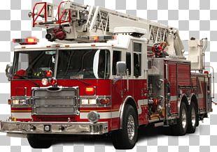 Fire Brigade Truck PNG