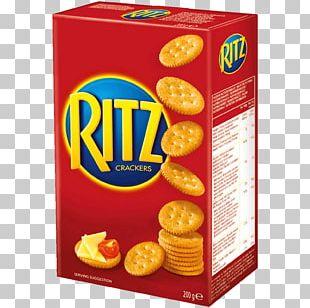 Ritz Crackers Water Biscuit Pretzel Nabisco PNG