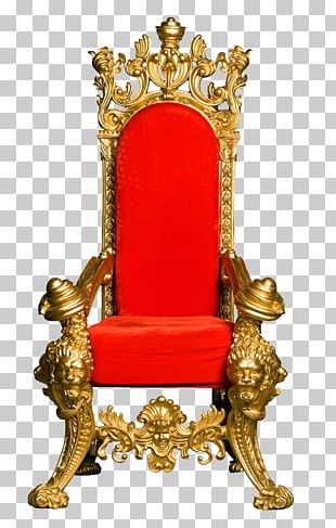 Lion Throne Chair PNG